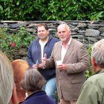 Plas Brondanw Gardens - 1 - Anthony Tavener introduces head gardener Gwynedd Roberts
