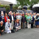 Welsh Highland Railway - 6 - group shot