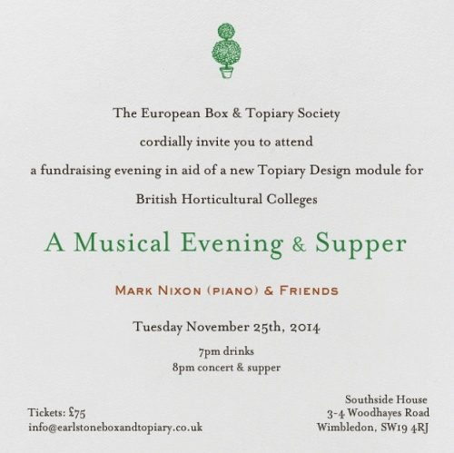 Fund Raiser Invitation