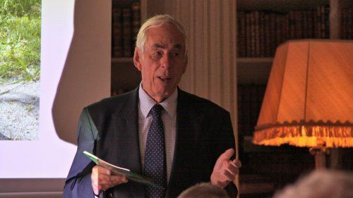 The Chairman Mark Hopkins addressing the AGM-FI