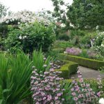 20150705 Littlethorpe Manor Walled Garden detail