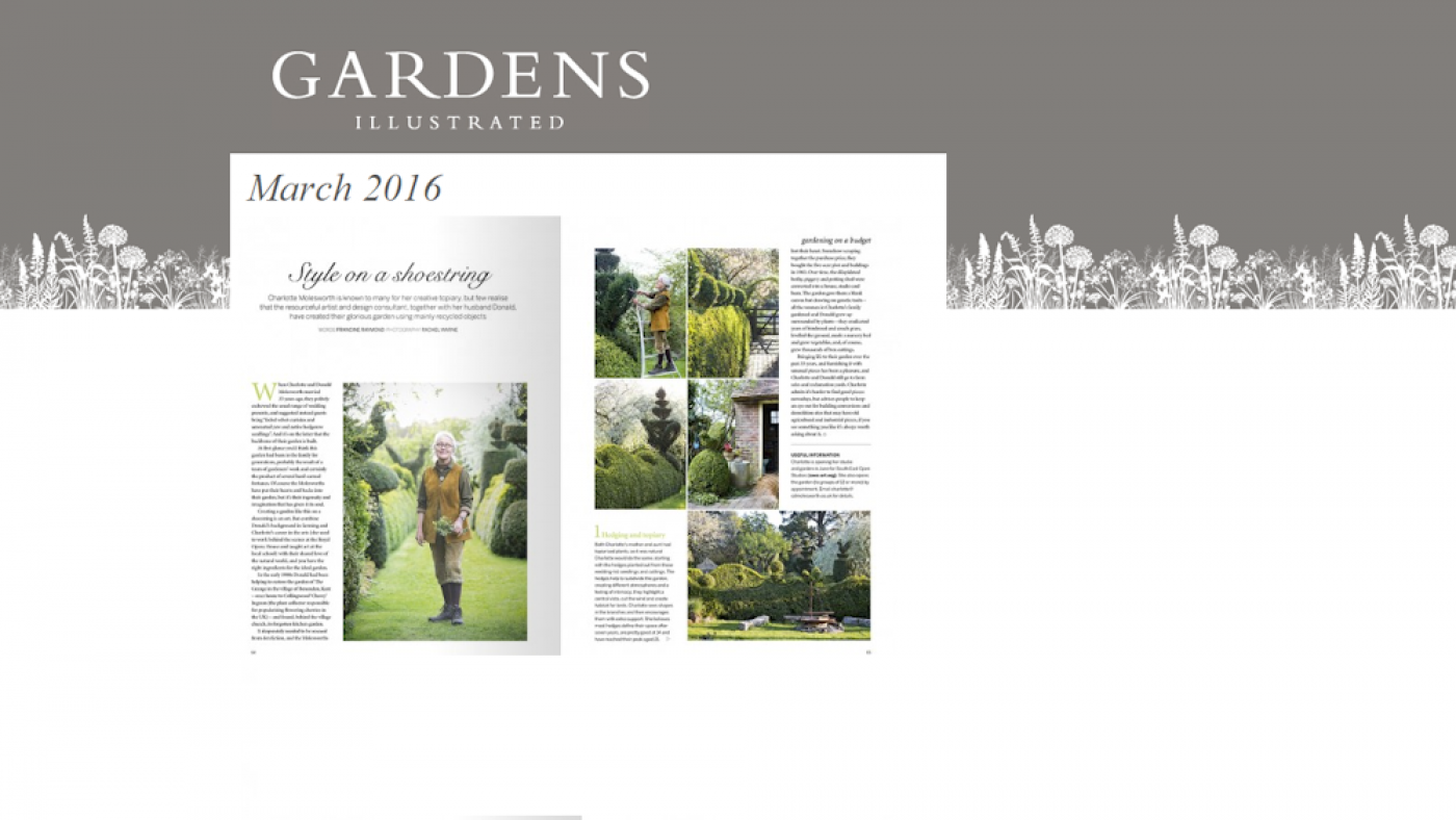 2016-03 Gardens Illustrated - Charlotte & Arne