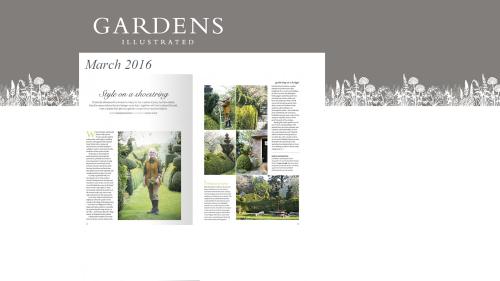 2016-03 Gardens Illustrated - Charlotte & Arne