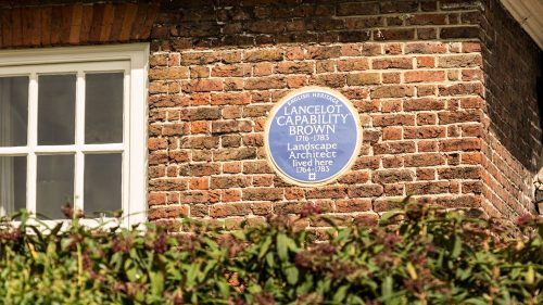 Capability Brown plaque