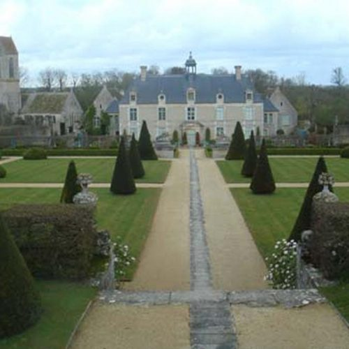 Chateau de Brecy - C17 Normandie chateau with restored Italianate garden 1