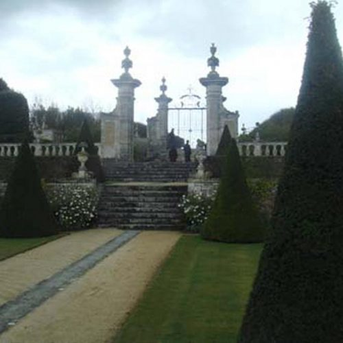 Chateau de Brecy - C17 Normandie chateau with restored Italianate garden 2