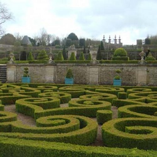 Chateau de Brecy - C17 Normandie chateau with restored Italianate garden 3