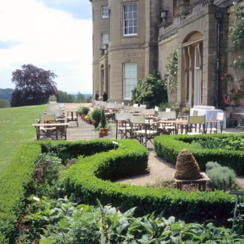 Claverton American Musuem - Garden near Bath Somerset England_