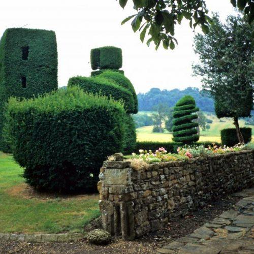 Radway - The Grange in Warwickshire England - an 18th century landscaped garden at foot of Edgehill - 2