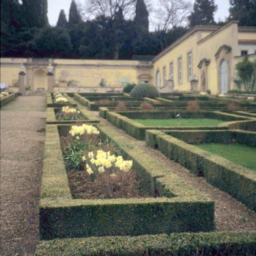 Villa Medecea was built by Lorenzo de Medici in the 15th century in Poggia a Caiano Italy - 1