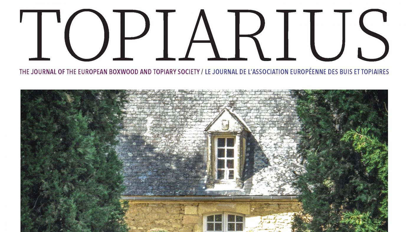 Topiarius Vol24 Summer 2020 HL