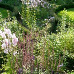Stanhoe Hall, Norfolk, Rill Garden planting detail