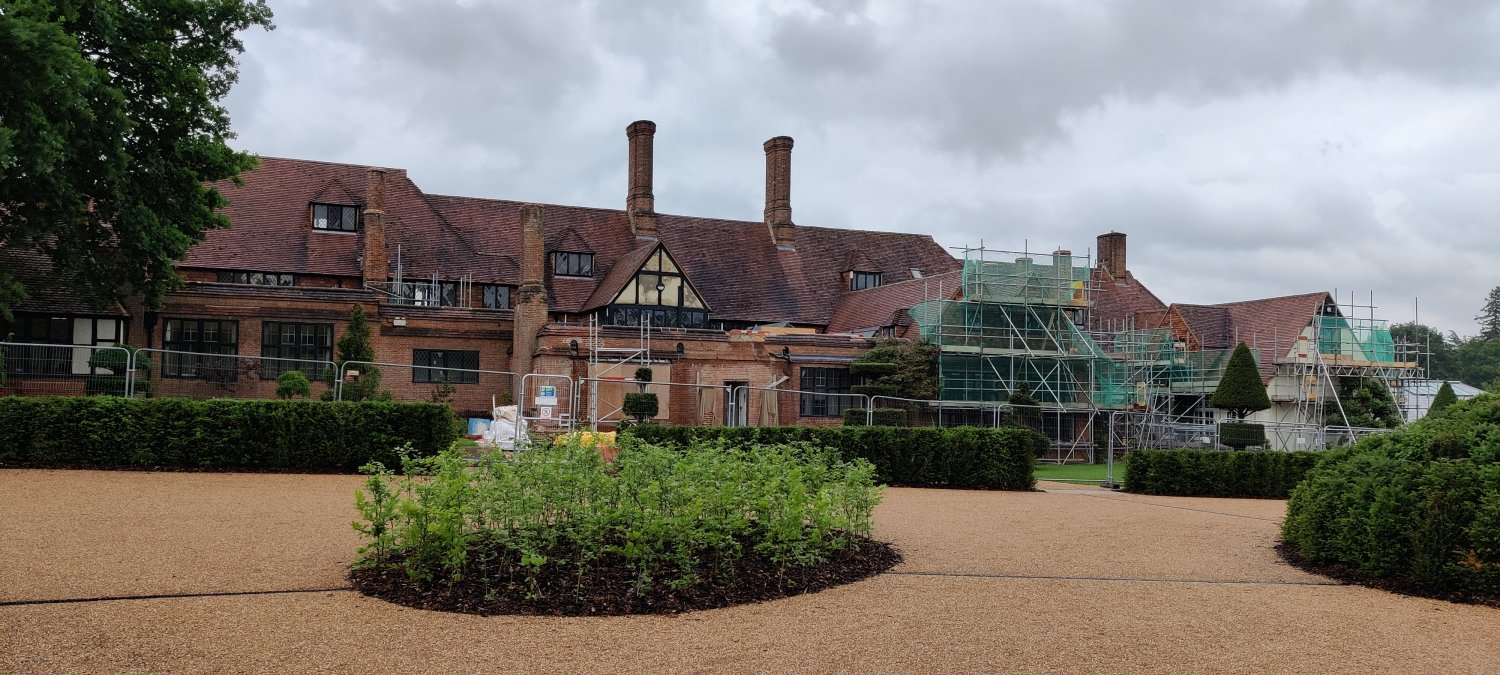 Renovation of the Laboratory building and new planting in front of it at RHS Wisley